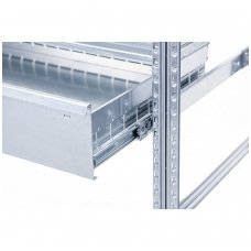 Metaliniai stalčiai stelažams 1200x500x66 mm