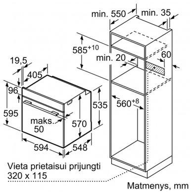 Orkaitė Bosch HRG2382S1 2