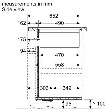 Kaitlentės Bosch PVQ795F25E 2
