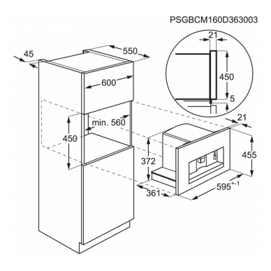 Kavos aparatai AEG KKK884500M 2