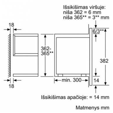 Mikrobangų krosnelė Bosch BFL634GS1 4