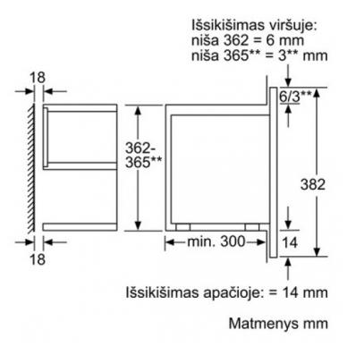Mikrobangų krosnelės Siemens BE634RGS1 3